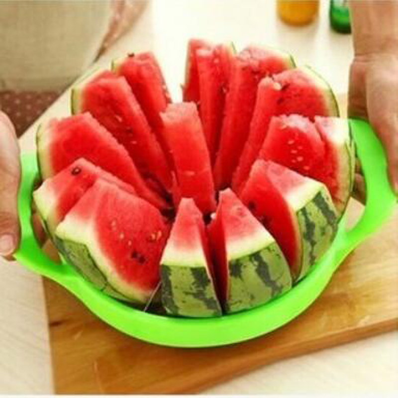 Fruit Cut Watermelon Melon Slice Device Multi Function Stainless Steel Eco-friendly 1Piece FV16