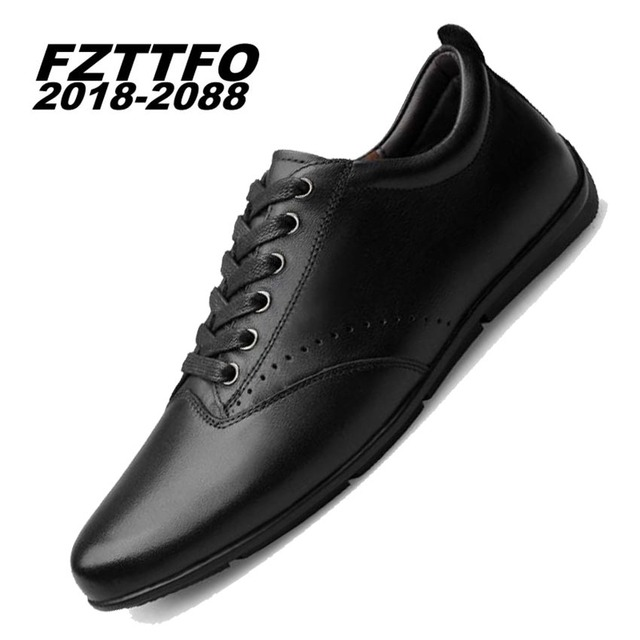 37-47 men loafers Top quality Genuine leather comfortable handsome brand men flats K330