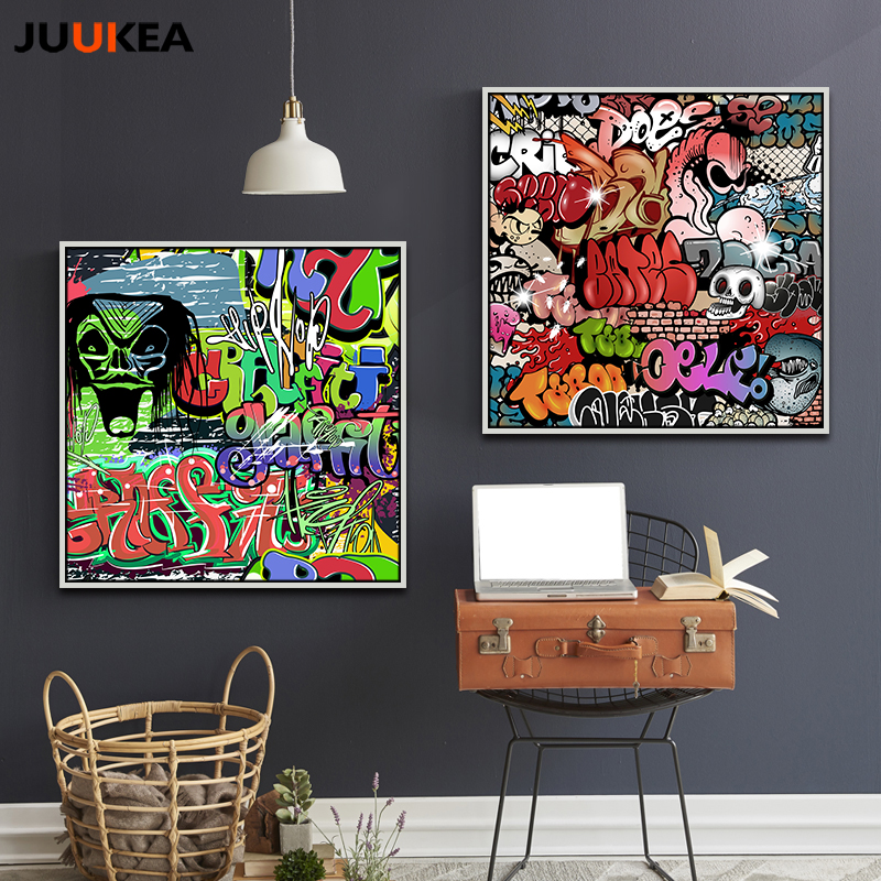 Graffiti Slogans Bedroom LightShade// Lampshade Get Attitude Matchin items UNISEX