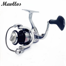 Mavllos Sliver Structure Strengthened 13 BB Surf Fishing Spinning Reel Saltwater 1000 2000 3000 4000 5000  Carp Reel Fihing Coil