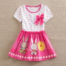 Girls dress NEAT Children's cute bow Dots tutu print Clothing girl Princess dress kids dresses for girls flower girl dresses