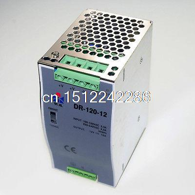 120W Din Rail Mounted 24VDC 5A Output Industrical Power supply Supplier цена