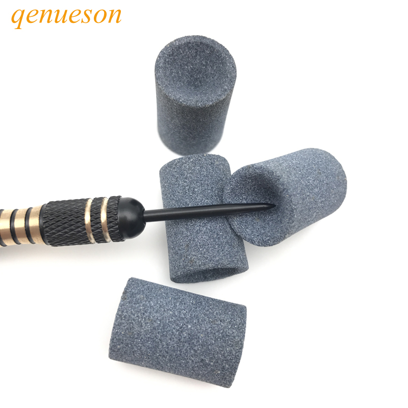 10 pcs/pack Professional Pro Multipurpose Millstone Accessories for Darts Needle Knife Make it Sharp Sharpner qenueson