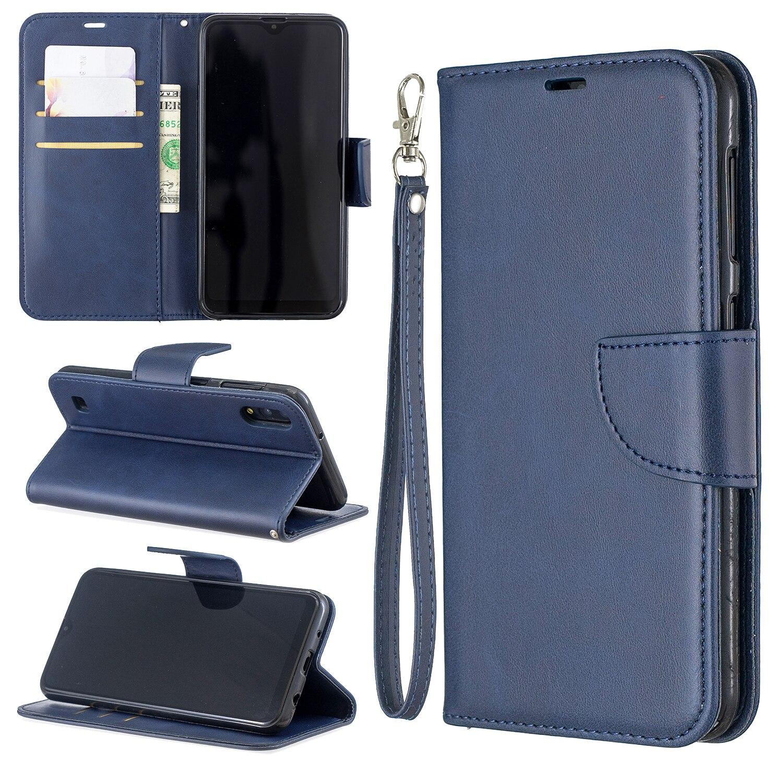 10 Pcs/Lot luxe Flip portefeuille en cuir synthétique polyuréthane housse de téléphone pour Samsung Galaxy M10 M20 M30 5G Stand cartes titulaire Coque sac