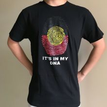 6b85384e889 phiking Adults Teenager AUSTRALIA ABORIGINAL FLAG IT IS IN MY DNA Mne T- shirt Size S. Print
