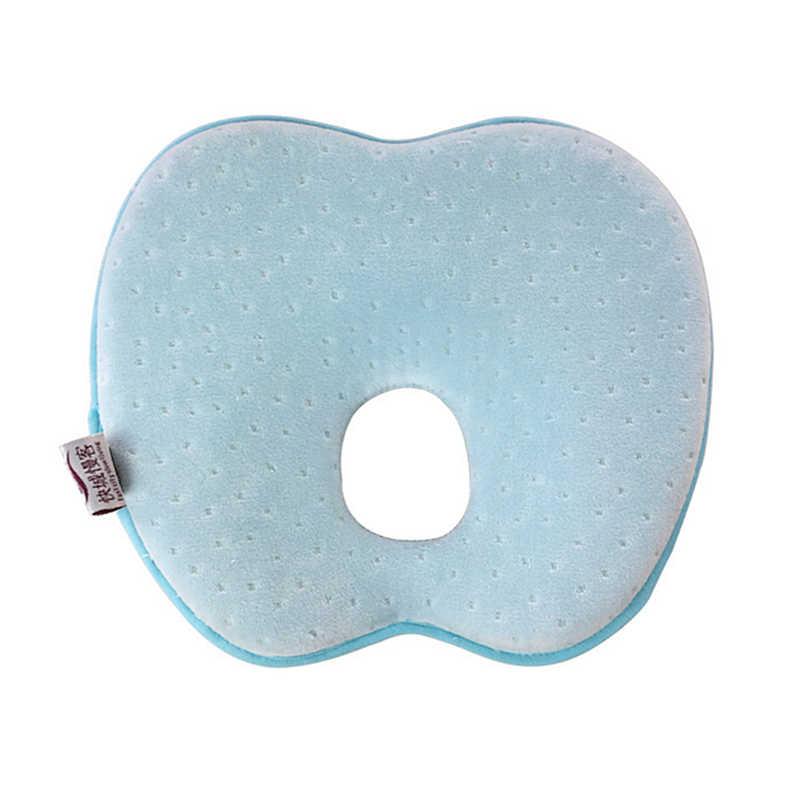 Пена с эффектом памяти для форменная Подушка Предотвращение плоской головкой в форме яблока детское постельное белье для кормления Подушка Детская позиционер Анти ролл для сна позиционная панель