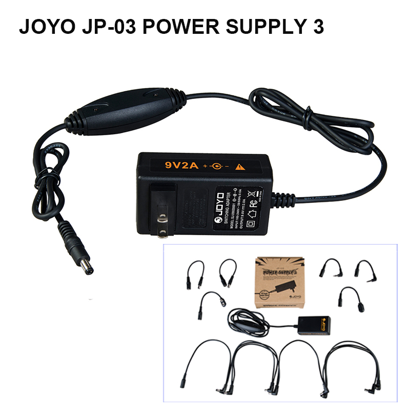 Replacement Power Supply for JOYO JF-02 ULTIMATE DRIVE 9V HS