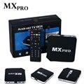 2016 Nueva MXpro MX pro Quad Core Android 4.4.2 Amlogic S805 Caja de la TV reproductor HDMI WiFi 1080 P 1 GB de Ram y 8 GB Rom UE REINO UNIDO EE.UU. UA enchufe