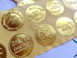 Image 4 - ホットカスタマイズエンボススタンプあなたのロゴ、パーソナライズエンボスシールのためのレターヘッド結婚式の封筒 Gaufrage スタンプ