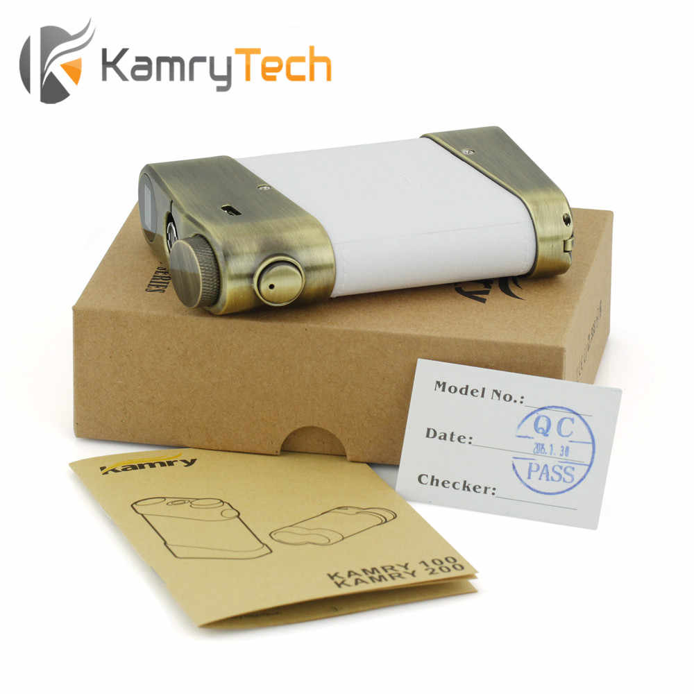 Clearance SALE Kamry200 200W Box Mod Mechanical Mod Variable Wattage Oled Screen Display Kamry200 Electronic Cigarette Mod Box