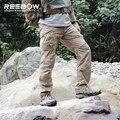 IX9C Мужчин Легкий Тактический Открытый Cargo Pants Мужчины Армия Армия Летние Тонкие Брюки Rip-stop Тефлон Водонепроницаемый Пейнтбол