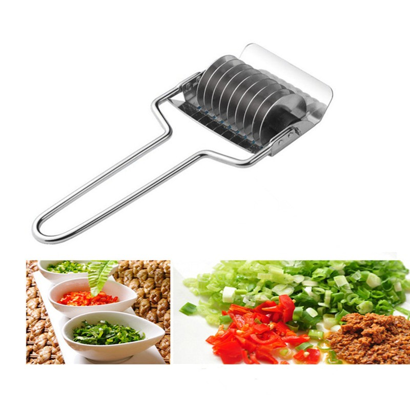 New-Arrival-Stainless-Steel-Blade-Green-Onion-Chopper-Slicer-Garlic-Coriander-Cutter-Kitchen-Accessories-Gadgets-Cooking