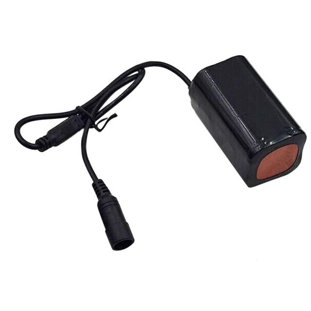 8.4V USB Rechargeable 6400mAh Lithium Battery 4x18650 Battery Pack 3 Hours Highlight