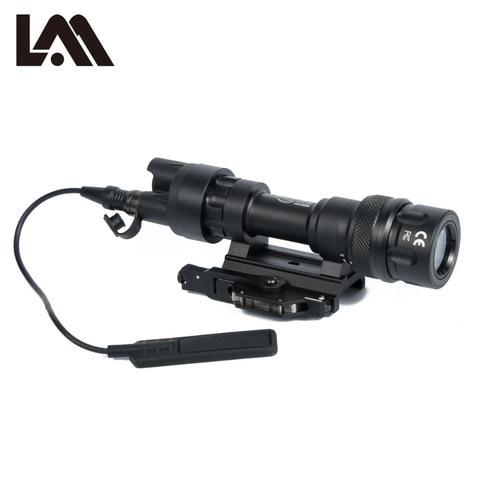 lambul m952 m952v qd quick release tactical rifle lanterna montar luz 400 lumens arma para