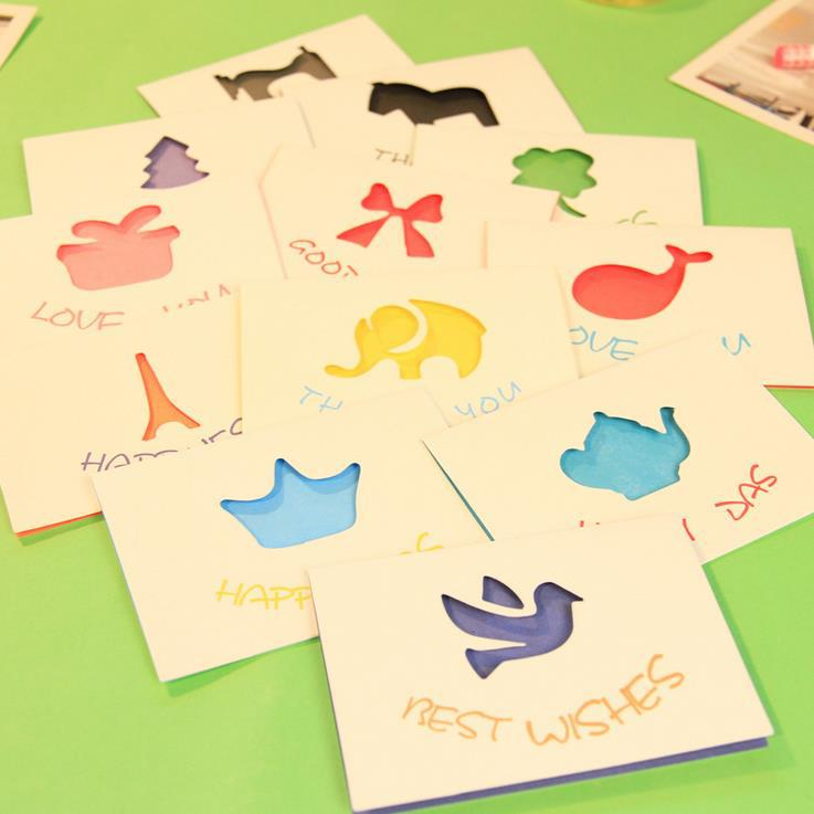aliexpress  buy cute animal greeting cards for birthday cards, Greeting card
