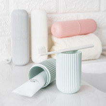 Portable Toothbrush Storage Box Bathroom Accessories Travel Toothpaste Organizer Holder