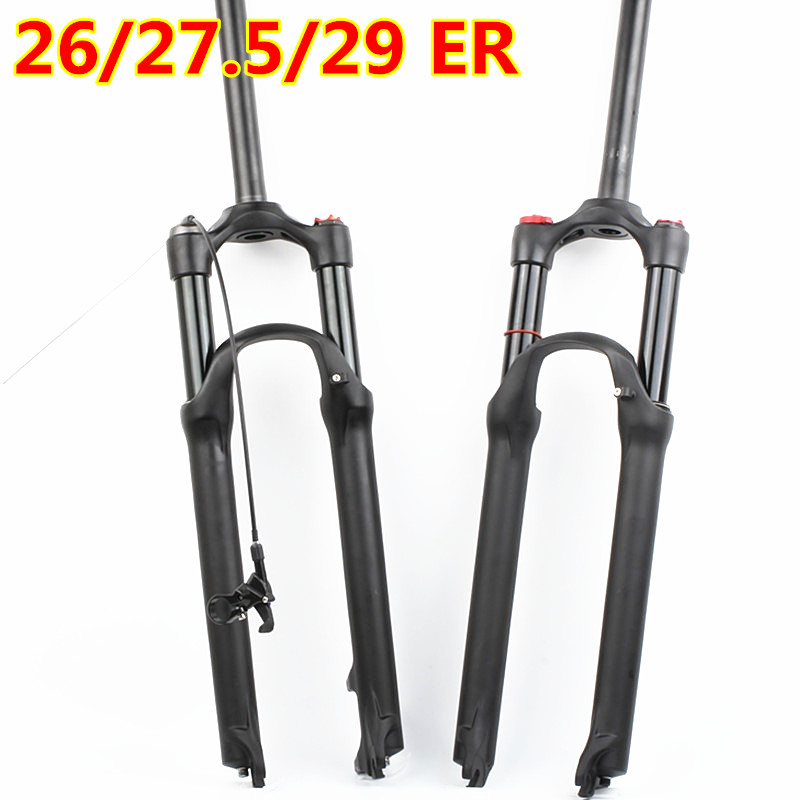 HIMALO bicycle fork suspension Mountain bike fork gas air resilience oil damping 26 27 5 29ER