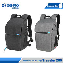 Benro Traveler 200 Camera Bag Professional Nylon Waterproof DSLR Fashion Case For Traveling Carry Tripod Free Shipping
