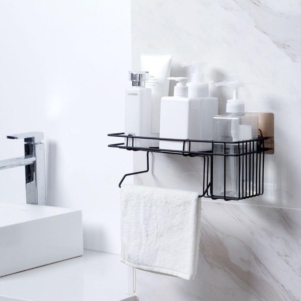 Bad Hardware Wand Bad Dreieck Ecke Lagerung Regal Shampoo Seife Kosmetik Halter Mit Haken Kleiderbügel Bad Lagerung Rack