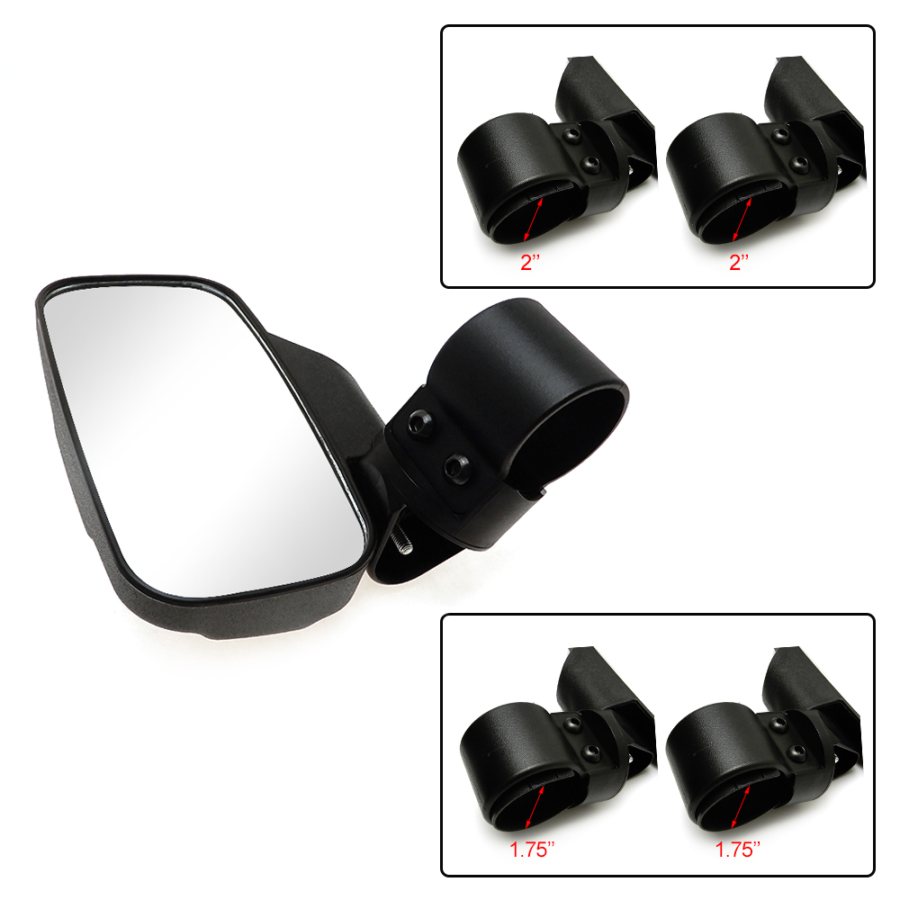 Original Utv For Polaris Rzr Xp 1000 900 2015-2017 Side Storage Bag Door Handle Bag Knee Pad Rearview Mirror Side Mirrors Rear View Wide Automobiles & Motorcycles