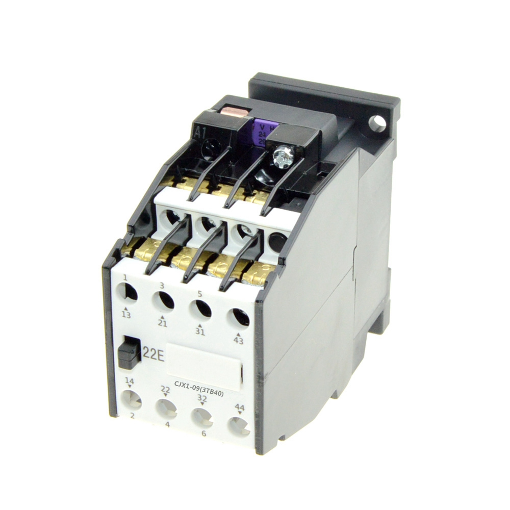 AC Contactor Relay 9A 3P 2NO 2NC 220V 24V 380V 110V Coil Volt 50Hz Ith 20A Motor Magnetic Starter Contactors 35mm Din Rail Mount ac 220v 230v coil voltage pcb power relay 8 pins din rail dpdt 2no 2nc mk2p 1 free shipping