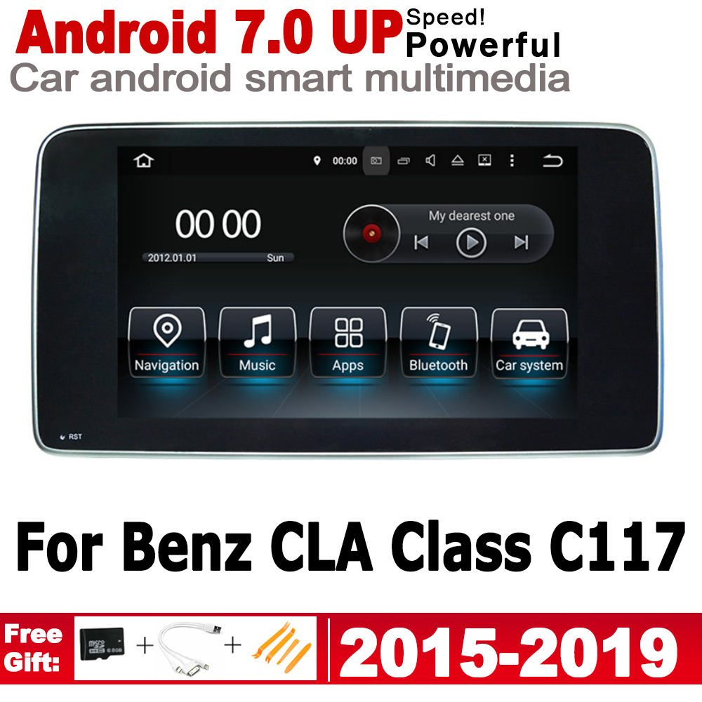10.25 HD Screen Stereo Android Car GPS Navi Map For Mercedes Benz CLA Class C117 2015~2019 NTG Multimedia Player Auto Radio