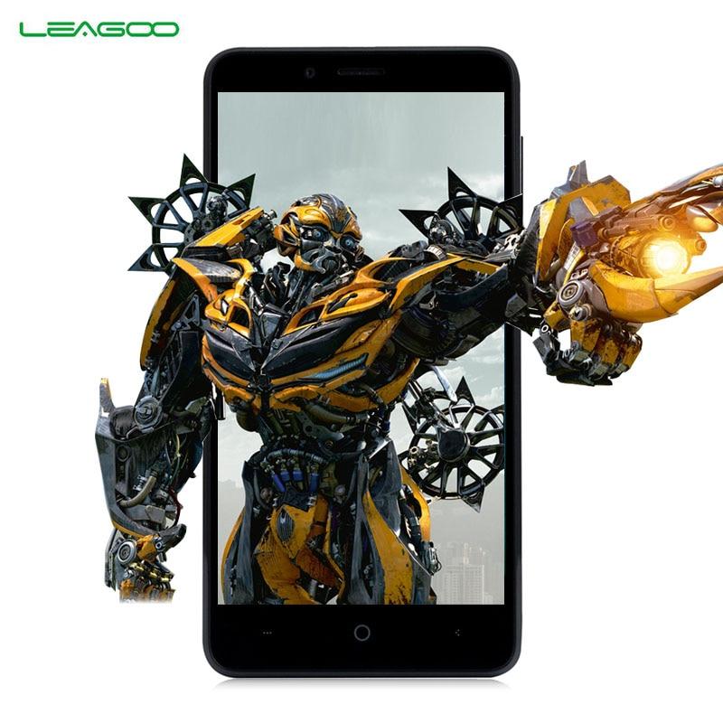 LEAGOO KIICAA POTENZA 3G Smartphone 5.0 pollice Android 7.0 MTK6580A Quad Core RAM 2 GB ROM 16 GB 4000 mAh Dual Fotocamera Posteriore Del Telefono Mobile
