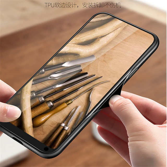 Wooden Phone Case For Xiaomi Models with TPU Protective Layer