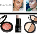 Focallure FACE kit set Brush Highlighting Powder Creamy Texture Water-proof Bronzer &Highlighter Make Up girls gift