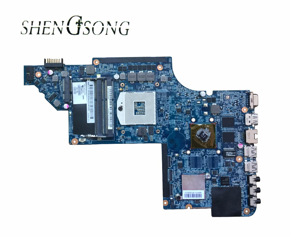 Free Shipping 665986-001 Motherboard for HP Pavilion DV7-6000 DV7T-6000 laptop motherboard 100% tested well