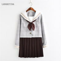 LANSHITINA New Fashion Sexy Students Costumes Sexy School Students Costume Girl Halloween Outfit Fancy Uniform