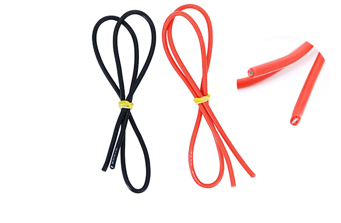 16AWG Ultra-soft High-temperature Silicone Wire 252 Strand OD3.0mm Single Copper Wire 0.08 Large Current Power Supply Motor Wire