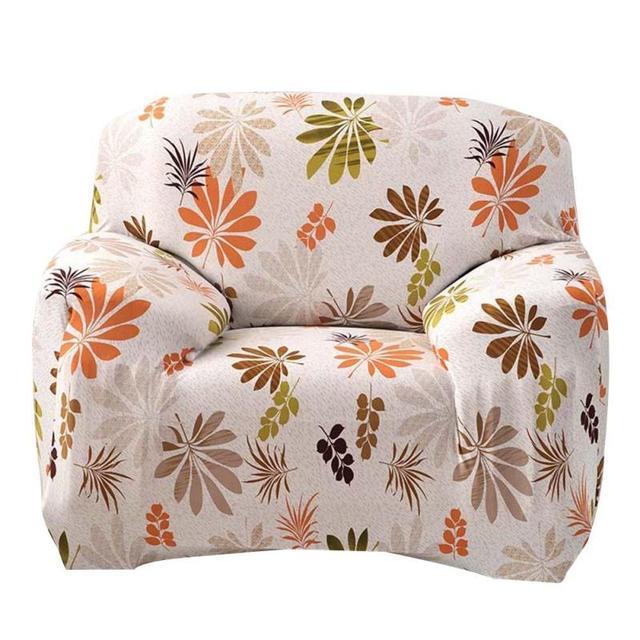 Flower Pattern Modern Sofa Set Cover Only No Filler Living Room Non Slip Stretch Full