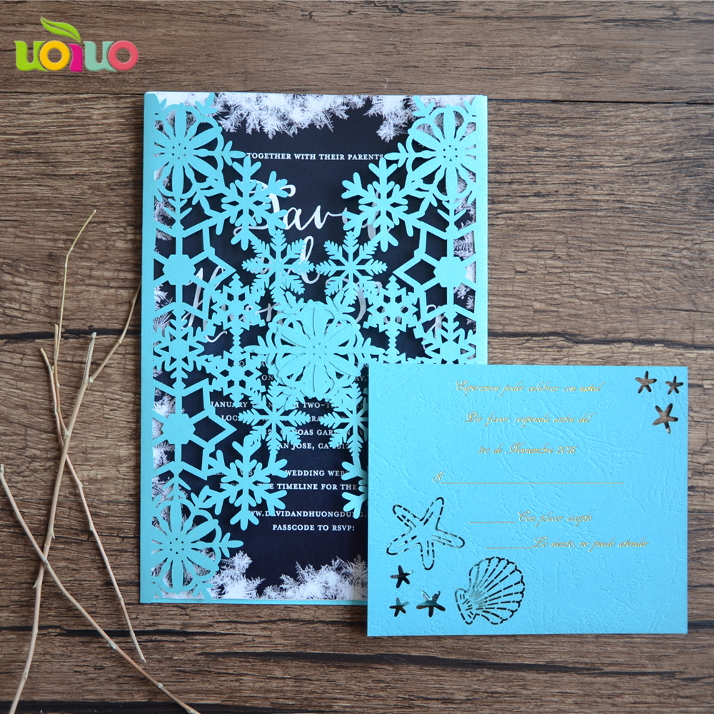 Us 6 9 Wedding Blessing Invitation Cards Wedding Invitation Cards For Family Dinner Party Ribbon And Buckle As Option In Cards Invitations From