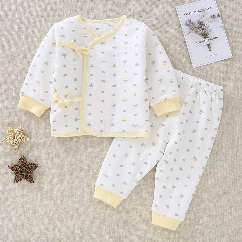 New style Warm Long Sleeve cotton Baby's Sets Baby Girls Boys Clothes 23608 the newest winter boys girls clothes long sleeve warm cotton baby s sets ad0275 ad0279