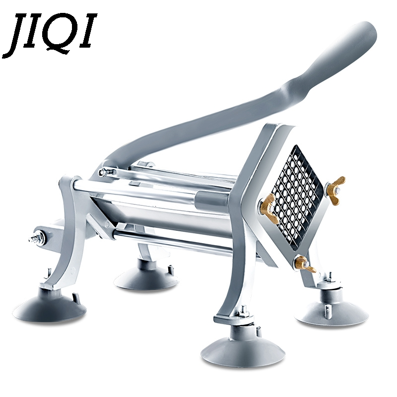 Jiqi Potato Chips Making Machine Chips Potato Food French Fry Cutter Manual Kitchen Carrot Cucumber Slice Cutting Machine Pretty And Colorful