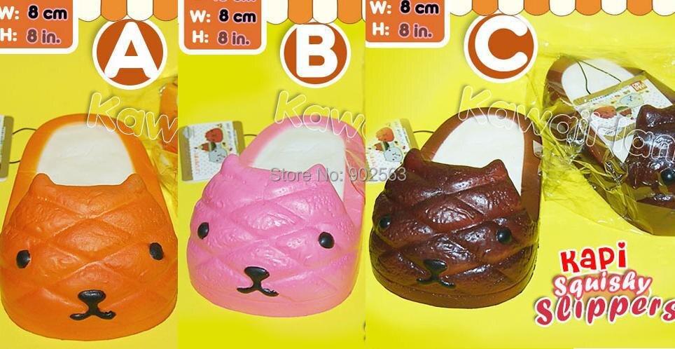 Aliexpress.com : Buy 2015 super kawaii RARE jumbo 13cm kapibarasan slipper squishy charm cute ...