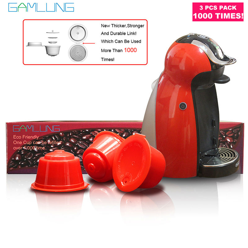 Gamlung Refillable Dolce Gusto coffee Capsule nescafe dolce gusto reusable capsule dolce gusto capsules USE 1000TIMES
