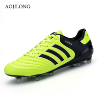 AOJILONG New Football Boots Soccer Shoes Men Turf Indoor Soccer Shoes Cleats For Sale Kids Cleats Indoor Soccer Sneakers