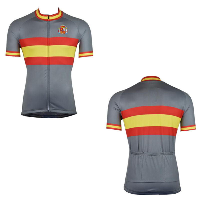 Special for Spain Team 2018 Lowest Price Ropa Ciclismo Breathable Cycling  jersey Maillot Bicycle Wear Bike 3a999259a