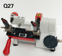 White Color Wenxing Q27 Key Duplicating Copy Cutting Machine Only Work On 220volts Locksmith Tools Supplies