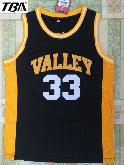 New Black Movie Indiana Valley 33 Larry Bird Jersey Throwback Cheap