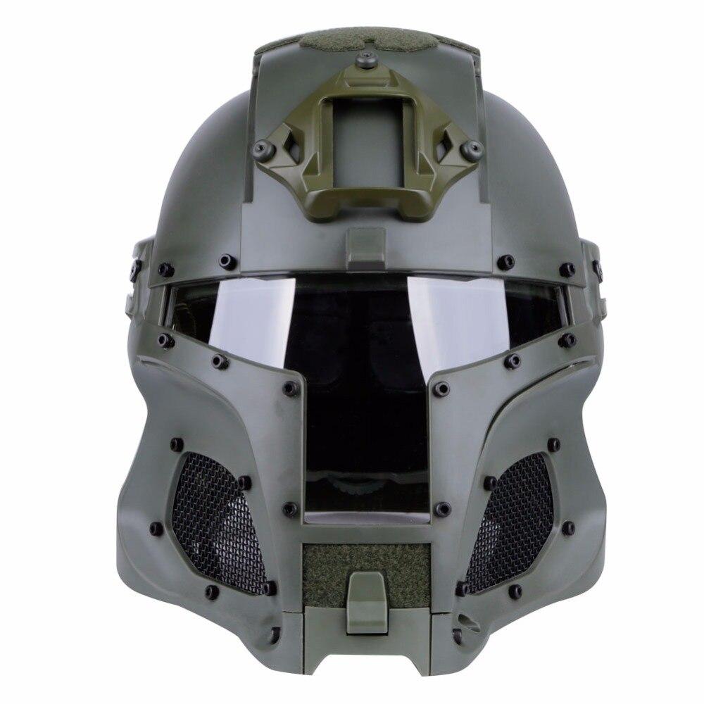 WoSporT Tactical Helmet Side Rail NVG Shroud Transfer Base Outdoor Sports Army Combat Airsoft Ballistic Helmet