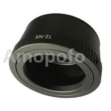Adaptador T2-NX Amopofo, T T2 Lens para Samsung NX adaptador de montagem NX100 NX200 NX1000 camera