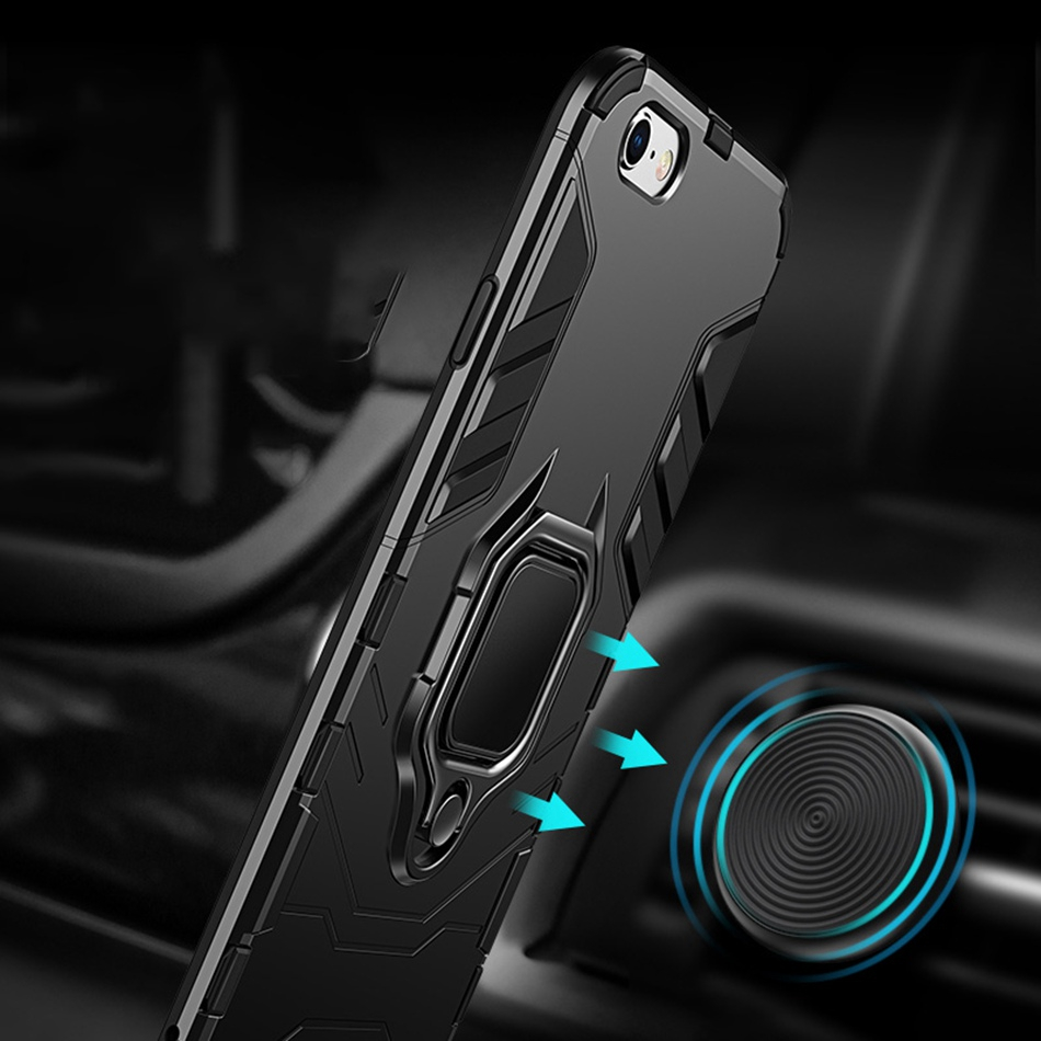 Image 4 - NORTHFIRE Shockproof Case For Xiaomi Redmi Note 5/6 pro 4/4X Magnetic Car Holder Case For Xiaomi MI8 Lite A1/A2 Mix 2 S 5X/6X