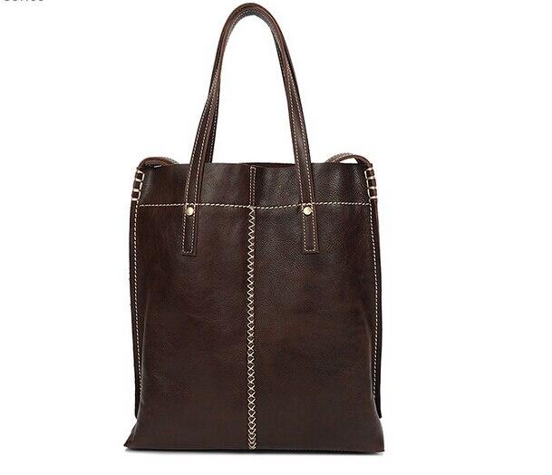 Leather female bag shoulder bag Free shipping