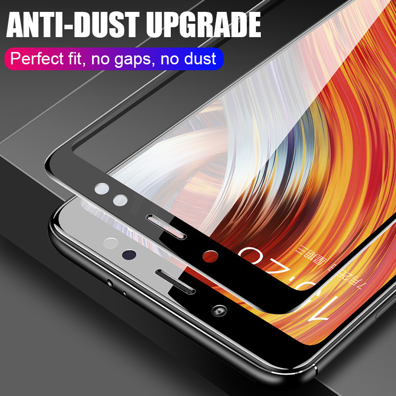 Image 4 - H&A 25D Curved Edge Protective Glass on the For Xiaomi Redmi 7 6 Pro 6A 4X 5 Plus Tempered Screen Protector Note 7 6 5 Pro Glass-in Phone Screen Protectors from Cellphones & Telecommunications