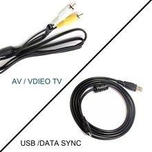 USB / AV TV кабель для Sony Alpha DSLR A100 DSLR A300 DSLR A700 DSLR A200 A900 DSLR A350 DSC S650 S780 S800