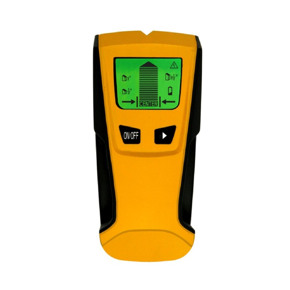 ST250 3 In 1 Wood Studs Finder Metal Detector Backlight LCD Portable Handheld AC Live Wire Detector Wall Scanner