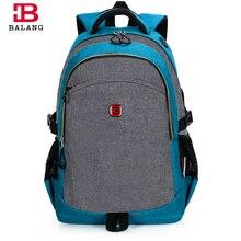 Balang trendy hohe qualität notebook rucksack mode studenten taschen für jugendliche jungen reise casual wasserdichter rucksack mode